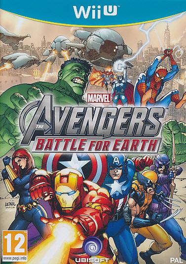 """Packshot for """"Marvel Avengers Battle WIIU"""""""