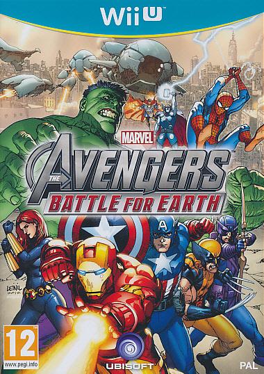 """Packshot for """"Marvel Avengers Battle NORD WIIU"""""""