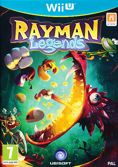 "Packshot for ""Rayman Legends WIIU"""