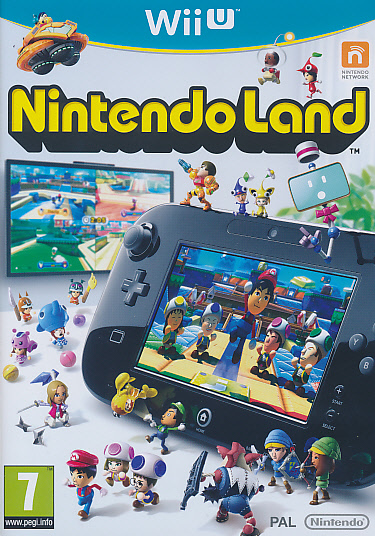 "Packshot for ""Nintendo Land WIIU"""