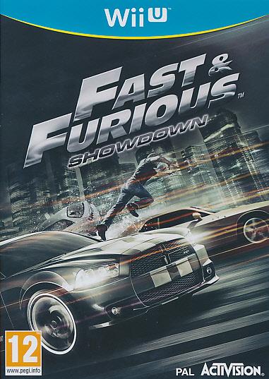"Packshot for ""Fast & Furious Showdown WIIU"""