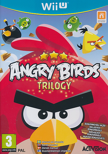 """Packshot for """"Angry Birds Trilogy NORD WIIU"""""""