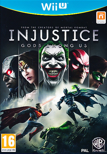 "Packshot for ""Injustice Gods Among Us WIIU"""