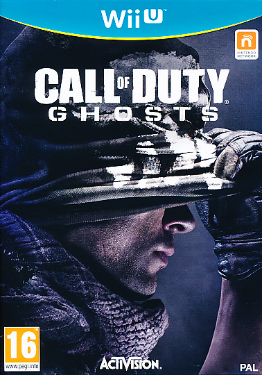 "Packshot for ""Call of Duty Ghost WIIU"""