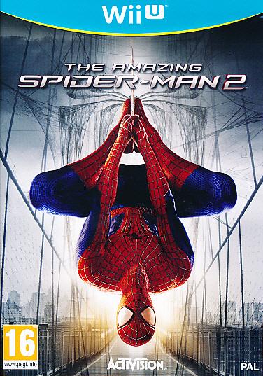"Packshot for ""Amazing Spiderman 2 WIIU"""