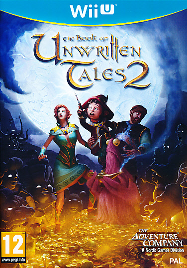 "Packshot for ""Book of Unwritten Tales 2 WIIU"""