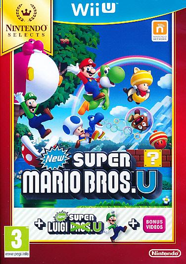 "Packshot for ""New Super Mario Bros U+Luigi U WIIU"""