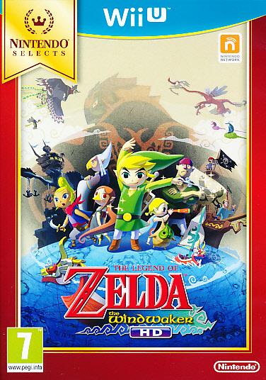 "Packshot for ""Legend of Zelda Wind Waker HD WIIU"""