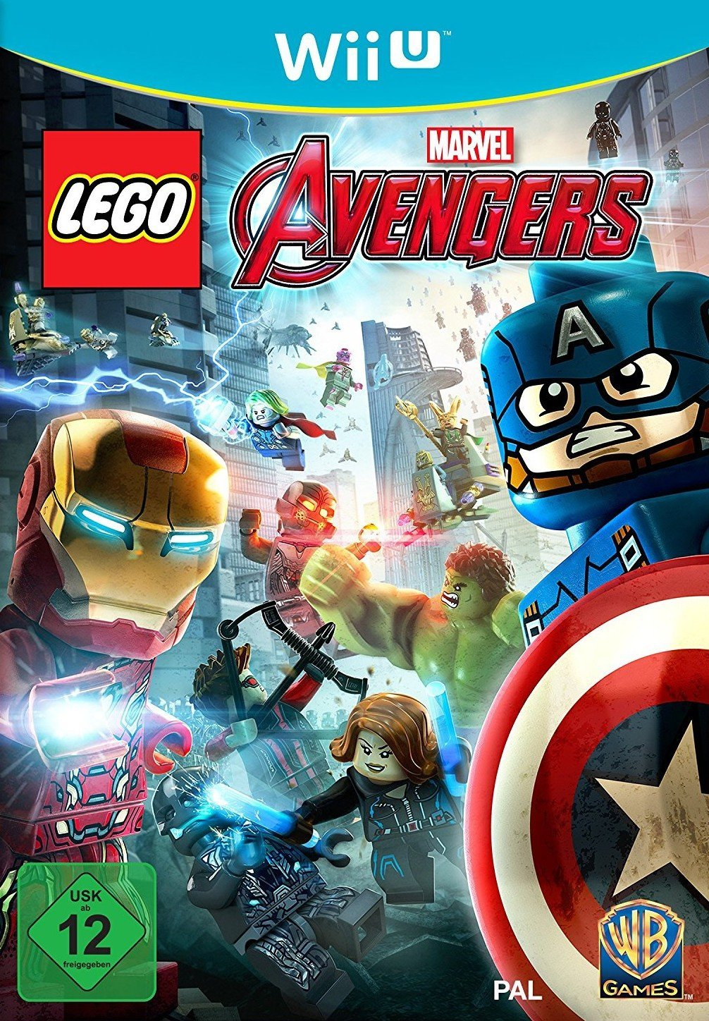 "Packshot for ""Lego Marvel Avengers WIIU"""