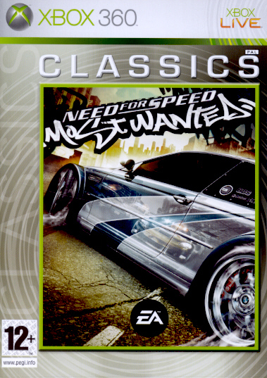 "Packshot for ""NFS Most Wanted CLASS X360"""