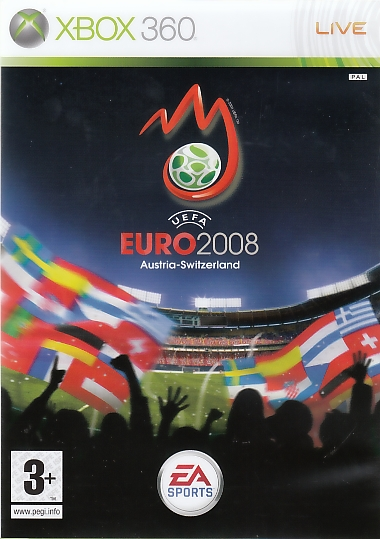 "Packshot for ""UEFA Euro 08 X360"""