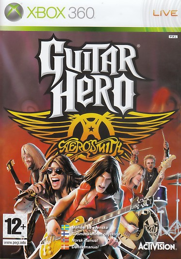 "Packshot for ""Guitar Hero Aero. Solus NORD X360"""