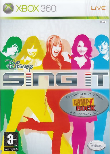 "Packshot for ""Disney Sing it Camp Rock Solus X360"""