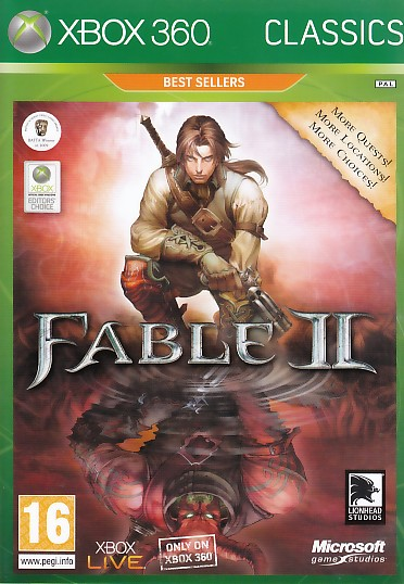 "Packshot for ""Fable 2 CLASS X360"""
