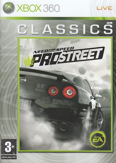 "Packshot for ""NFS Prostreet CLASS X360"""