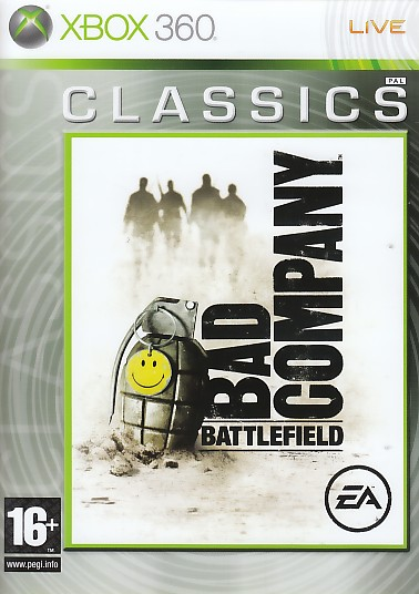 "Packshot for ""Battlefield Bad Company CLASS X360"""