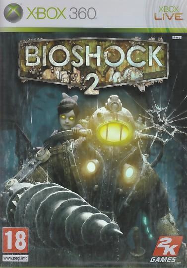 "Packshot for ""Bioshock 2 X360"""