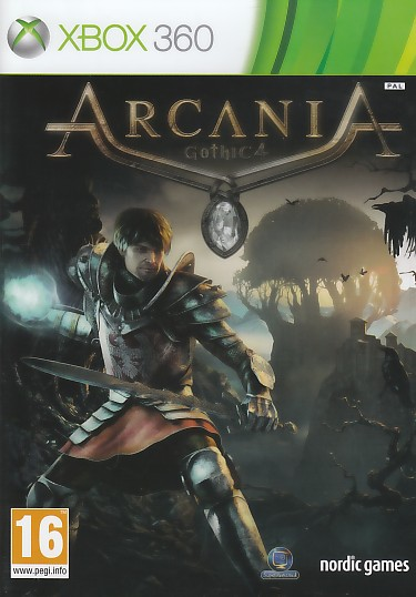 "Packshot for ""Gothic 4 Arcania X360"""
