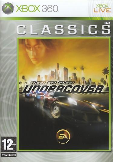 """Packshot for """"NFS Undercover CLASS X360"""""""