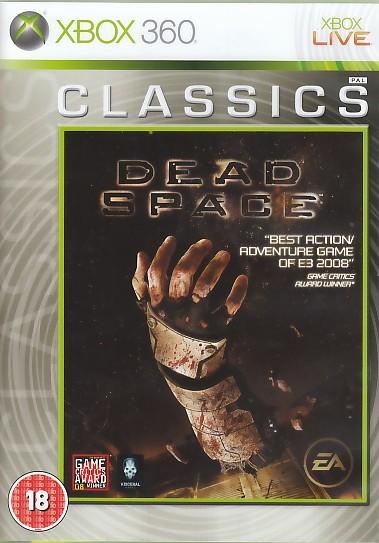 "Packshot for ""Dead Space CLASS BBFC RFX360"""