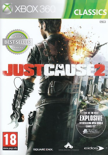 """Packshot for """"Just Cause 2 CLASS X360"""""""