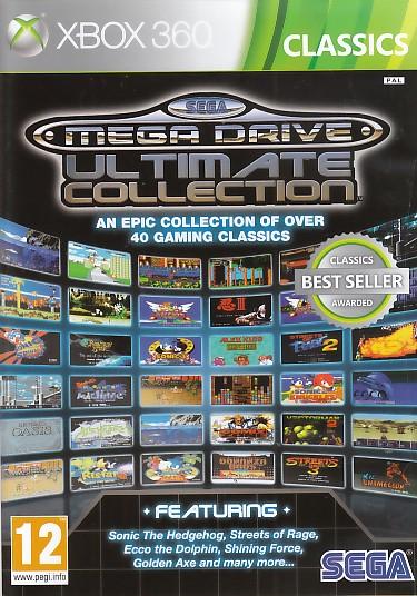 """Packshot for """"Sega Mega Drive Ulti.Coll.CLASSX360"""""""