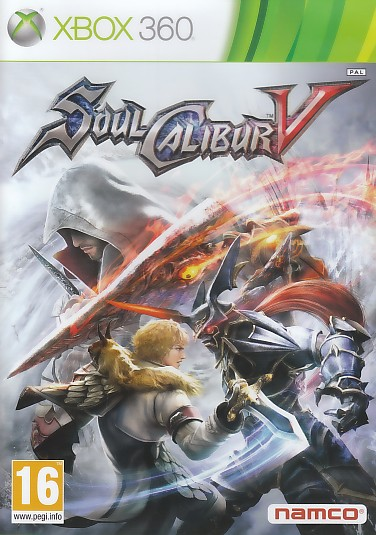 "Packshot for ""Soul Calibur 5 X360"""