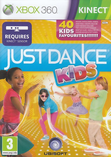 "Packshot for ""Just Dance Kids KINECT X360"""