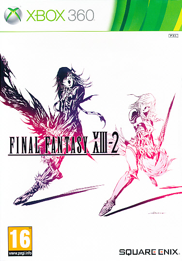 "Packshot for ""Final Fantasy XIII-2 X360"""