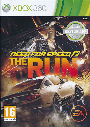 "Packshot for ""NFS The Run CLASS X360"""