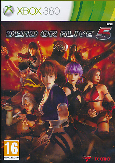"Packshot for ""Dead or Alive 5 X360"""