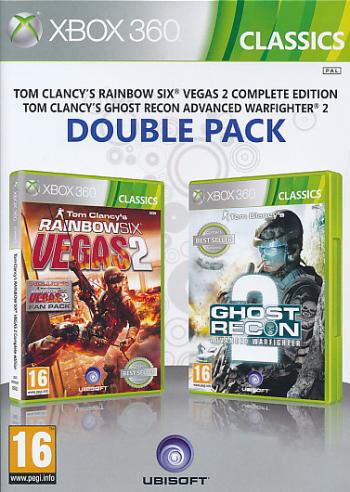 "Packshot for ""Rainbow Six + Ghost Recon AWF X360"""