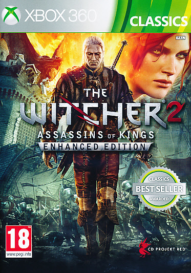 """Packshot for """"Witcher 2 Assassins of. Enh.Ed X360"""""""