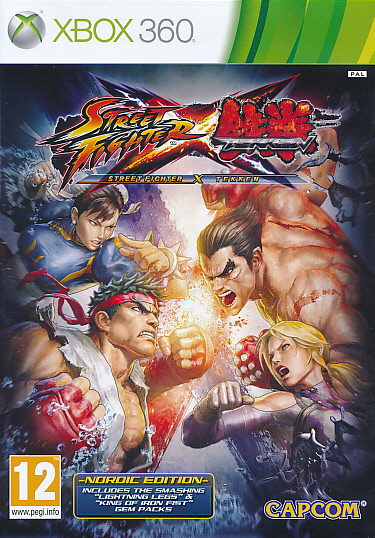 "Packshot for ""Street Fighter X Tekken NORD X360"""