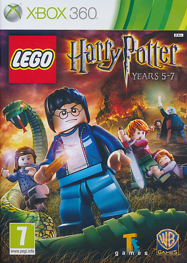 "Packshot for ""Lego Harry Potter 5-7 X360"""