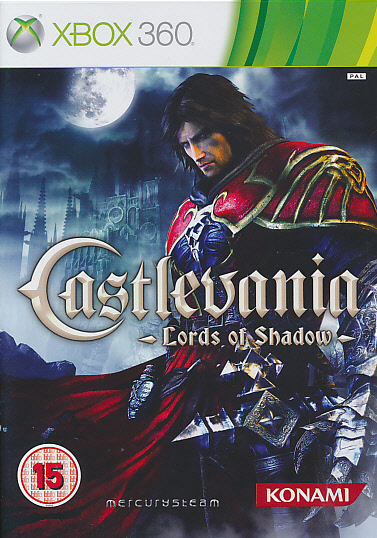 "Packshot for ""Castlevania Lord of Shadow BBFCX360"""