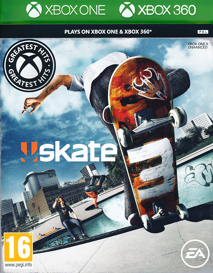 "Packshot for ""Skate 3 CLASS XBO/X360"""