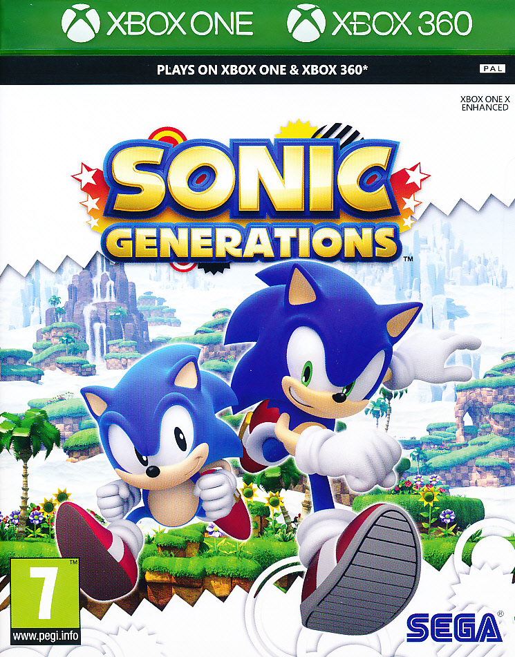 """Packshot for """"Sonic Generations CLASS X360"""""""
