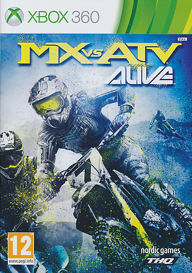 "Packshot for ""MX vs ATV Alive CLASS X360"""