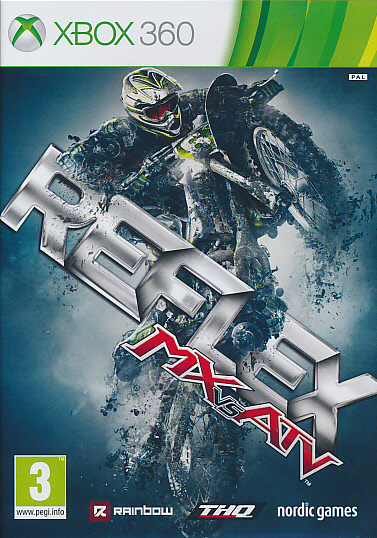 "Packshot for ""MX vs ATV Reflex X360"""
