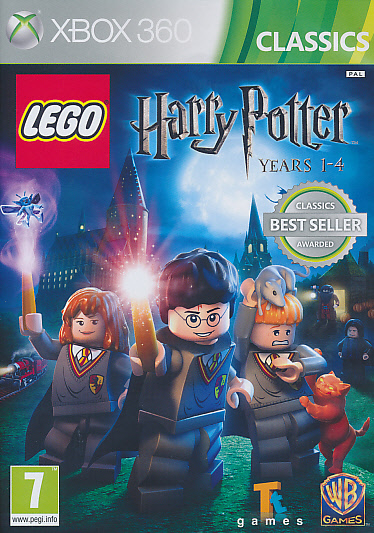 "Packshot for ""Lego Harry Potter 1-4 CLASS X360"""