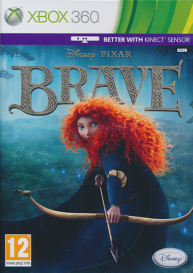 "Packshot for ""Disney Brave X360"""