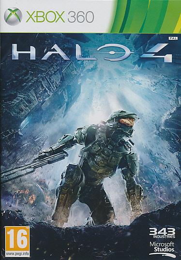 "Packshot for ""Halo 4 X360"""