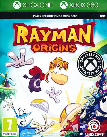 "Packshot for ""Rayman Origins CLASS X360"""