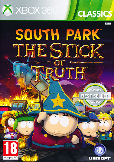 "Packshot for ""South Park Stick of Truth CLASSX360"""