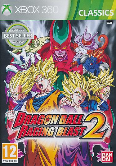 """Packshot for """"Dragonball Raging Blast 2 CLASSX360"""""""