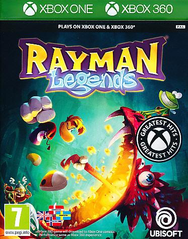 """Packshot for """"Rayman Legends CLASS X360"""""""