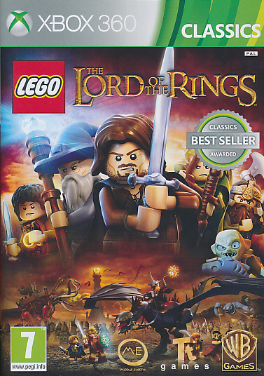 "Packshot for ""Lego Lord of the Rings CLASS X360"""