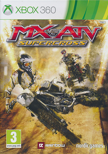 "Packshot for ""MX vs ATV Supercross X360"""