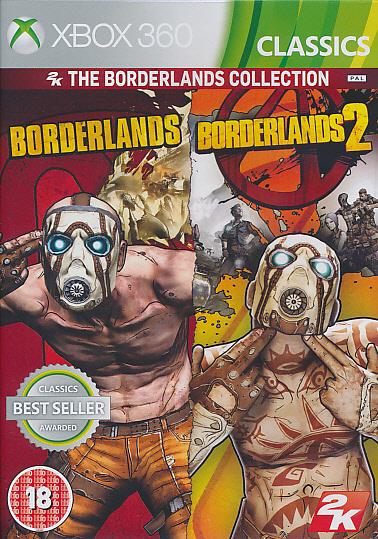 "Packshot for ""Borderlands Coll1+2 CLASS BBFC X360"""